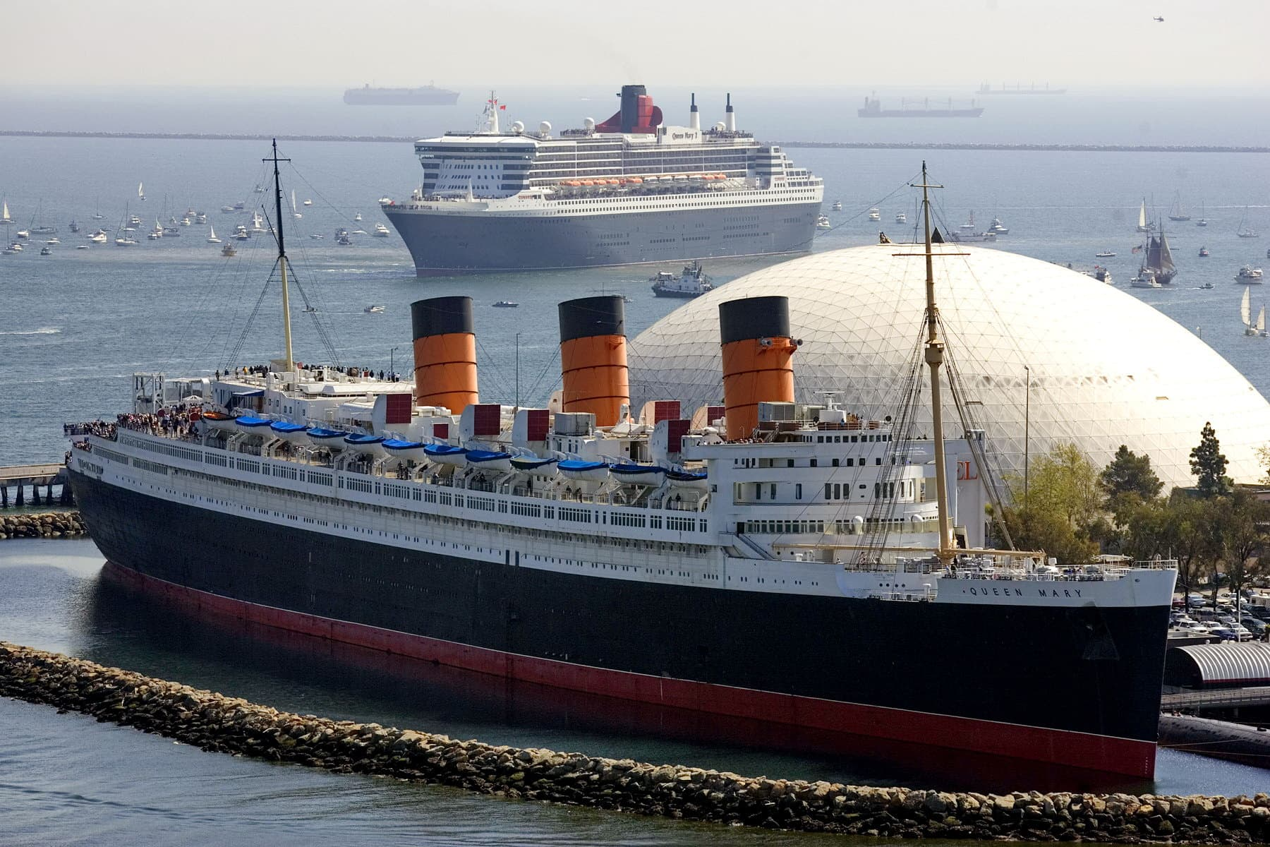 Two Queen Mary