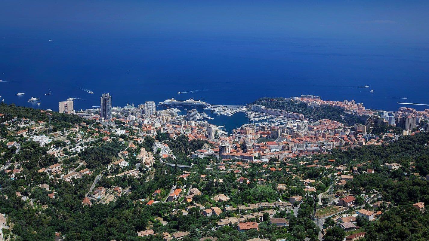 Круизный порт Монте Карло Монако Monte Carlo Monaco