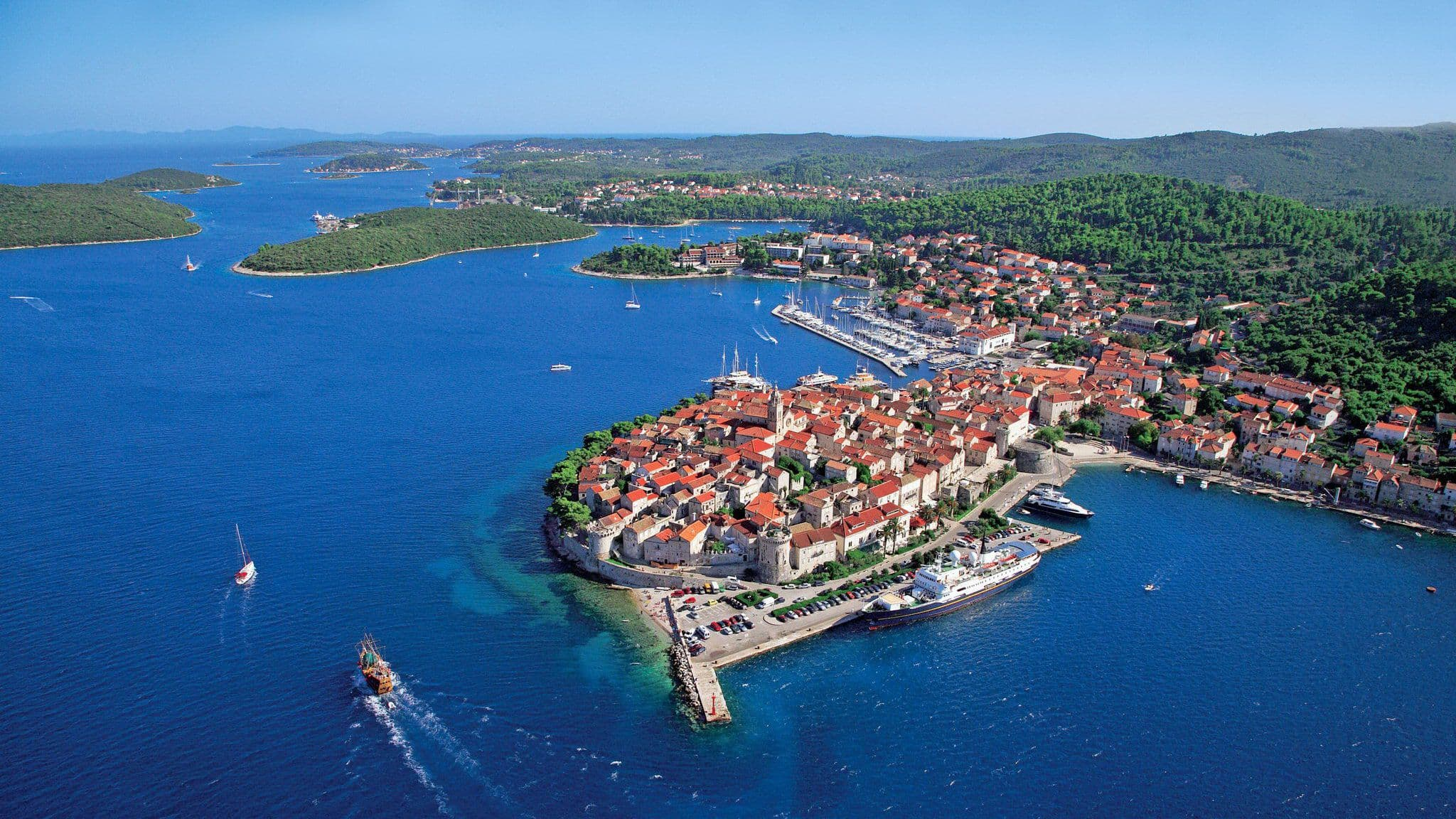 a history of the city of korcula a medieval city in croatia Korcula old town is a medieval walled city positioned on a oval-shaped » island korcula to visit as it gives insights to korcula's history.