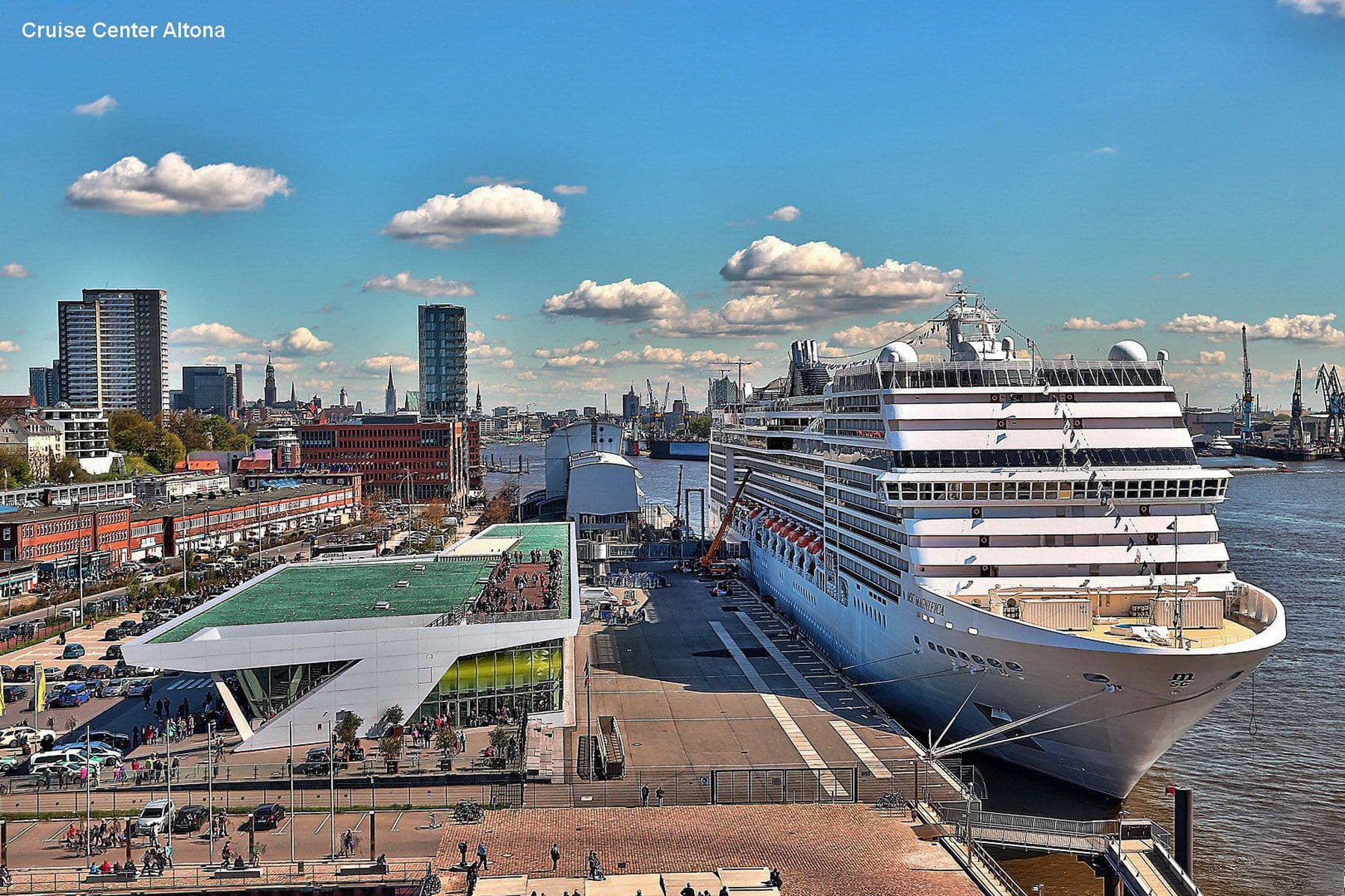 Круизный порт Гамбург Hamburg