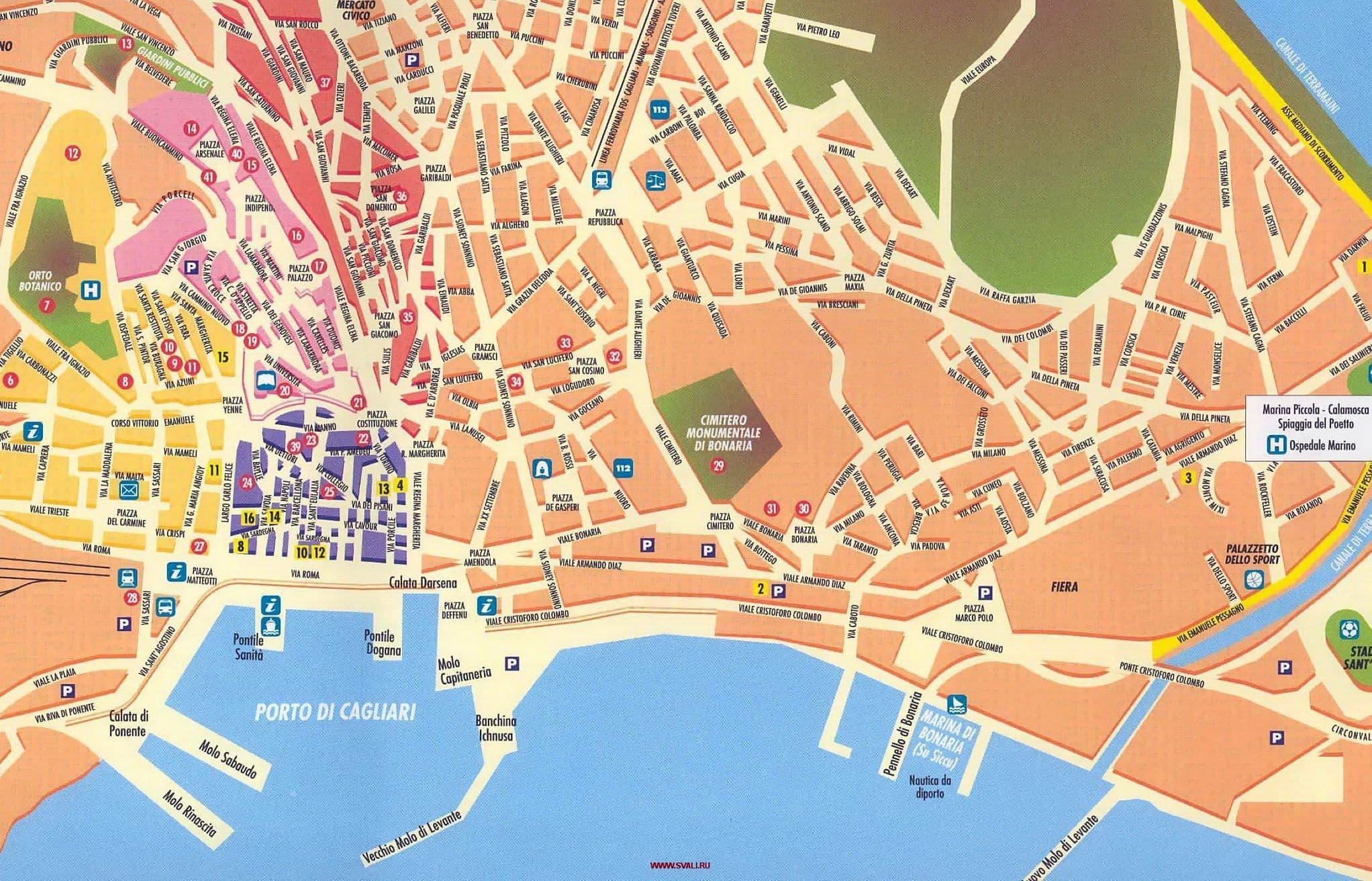 recensioni evasioni cagliari map - photo#1