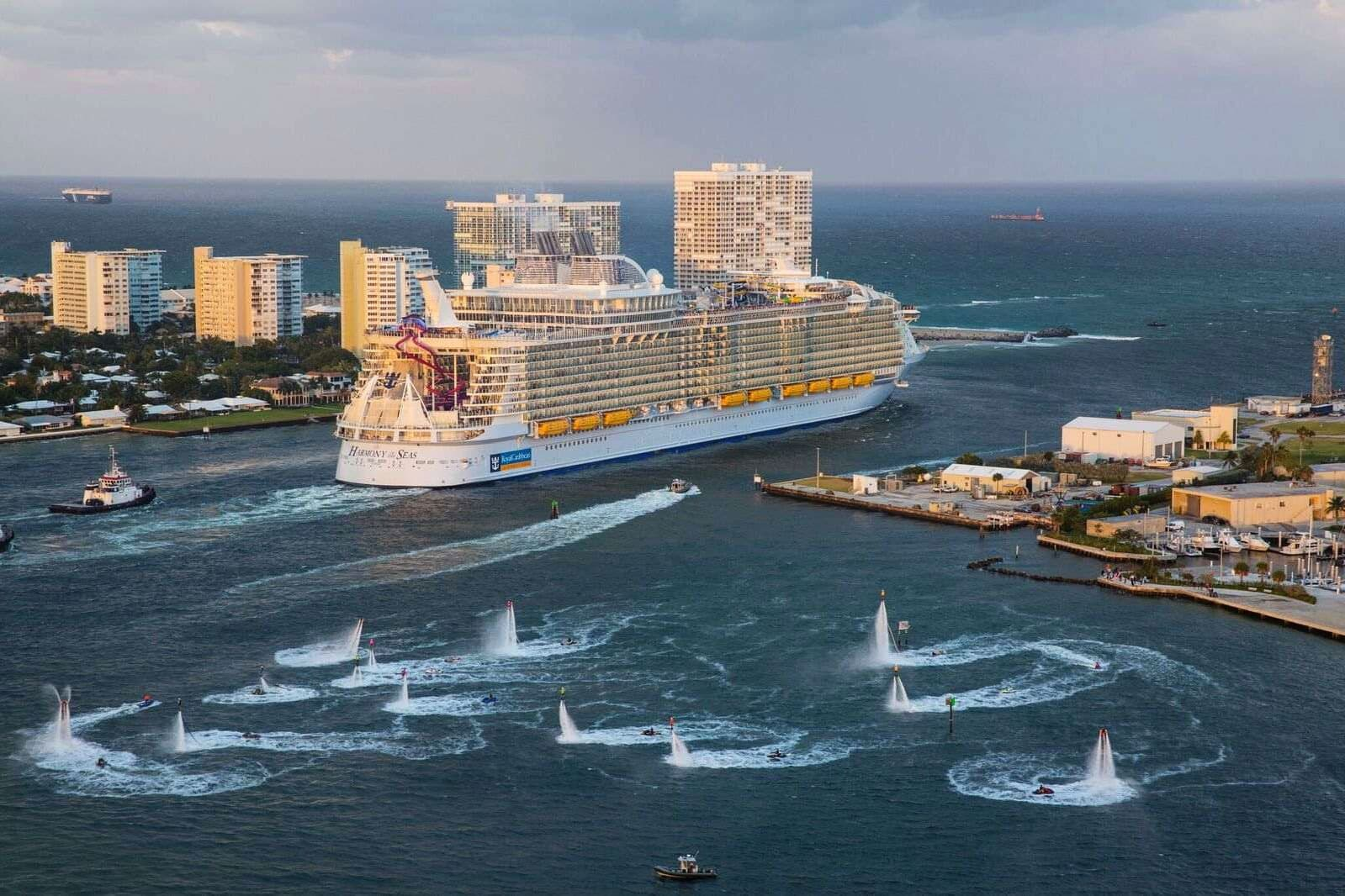 Harmony of the Seas in Fort Lauderdale