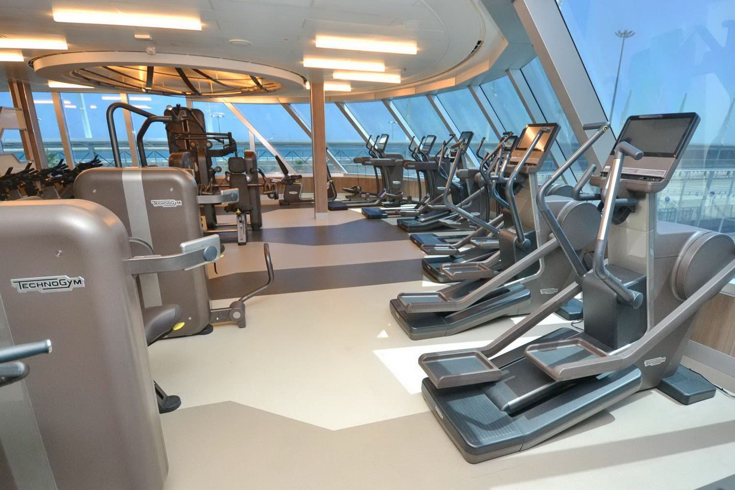 Seven Seas Explorer-Fitness Center