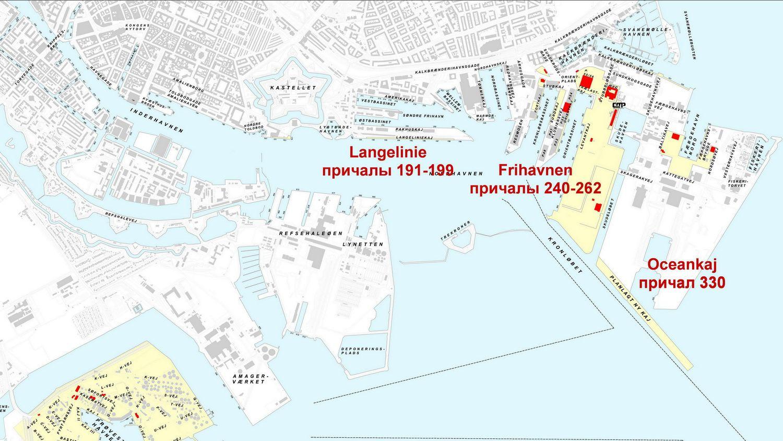 Copenhagen terminals map